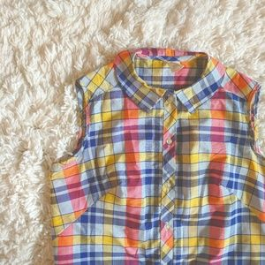 VTG 60s Plaid Shift Dress